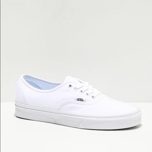 Vans Shoes | Authentic Skate Shoe White
